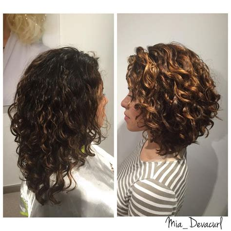 deva curl hairstyles for short hair mia on instagram transformation tuesday color credit