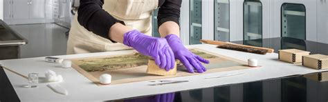Brits Conservators Clean House by Conservation Gilcrease Museum