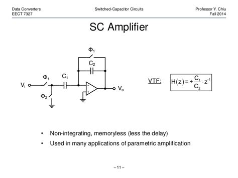 what is switched capacitor switched capacitor