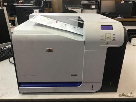 hp color laserjet cp3525 printer hp color laserjet cp3525 appears to function
