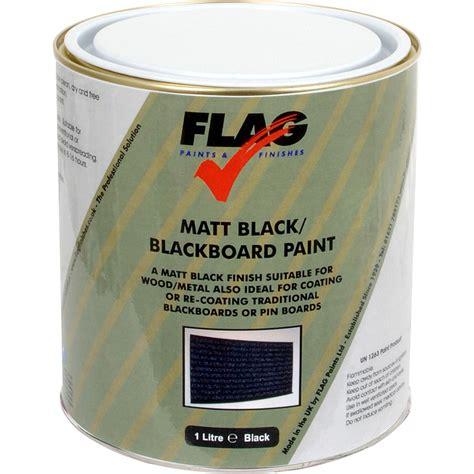 Blackboard Paint 1l Matt Black Toolstation