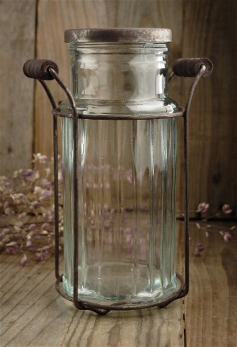 Glass Vase With Lid Glass Vase With Flower Lid 7 5 Quot