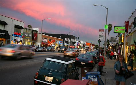 Melrose Avenue   Discovering Los Angeles Travel Guide