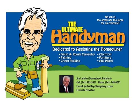handyman flyer template free 15 best handyman flyers images on brochures