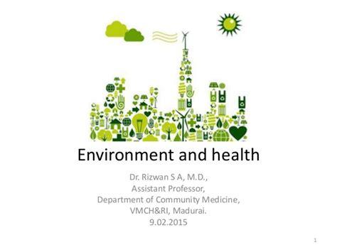 design for environment slideshare environment and health