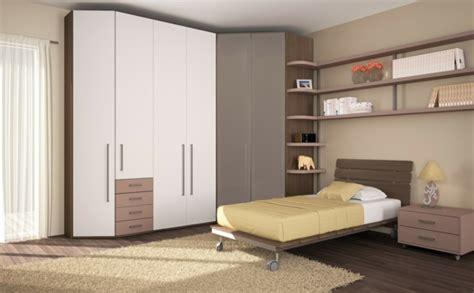 hightech schlafzimmer möbel eckkleiderschrank praktische und moderne interieur l 246 sung