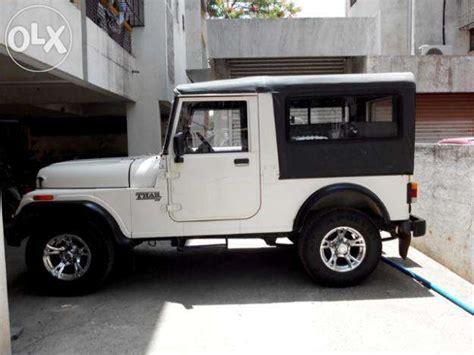 thar jeep white mahindra thar white mitula cars