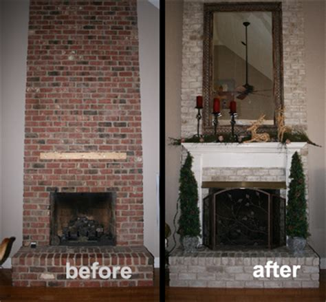 Brick Fireplace Paint Makeover Ideas by Anything About Remodeling A Painted Brick Fireplace
