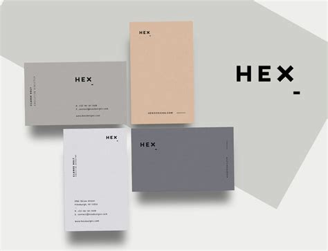 pitt business card template hex business card print template