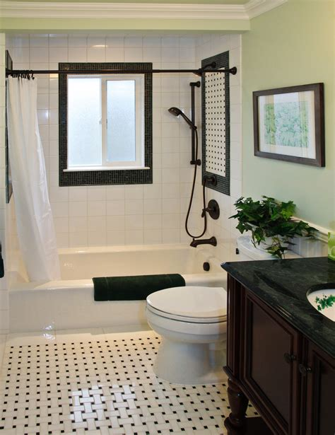 black and white bathroom floor tile bathroom contemporary