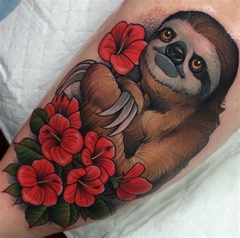 sloth tattoo sloth tattoos designs ideas and meaning tattoos for you