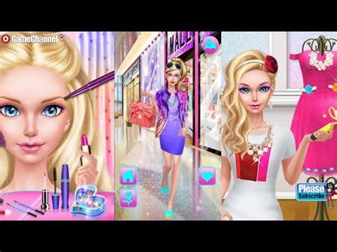 fashion doll shopping day spa fashion doll shopping day spa for