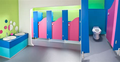 school bathroom design brecon toilet cubicles blue and dragon fruit