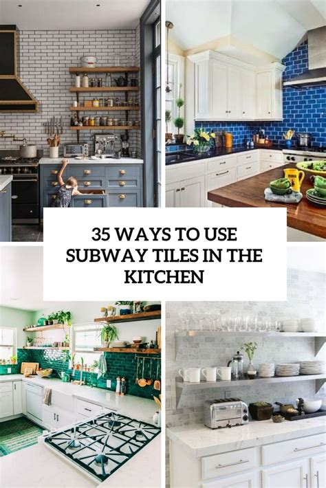35 Ways To Use Subway Tiles In The Kitchen Digsdigs | 35 ways to use subway tiles in the kitchen digsdigs
