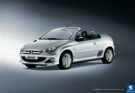 Peugeot Ad Peugeot 206cc Censored Ads Of The World