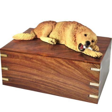 golden retriever urn pet urns golden retriever laying