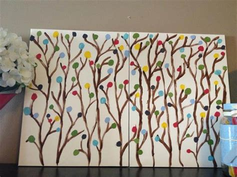 diy home painting ideen 10 easy diy canvas ideas for beginners diy to make