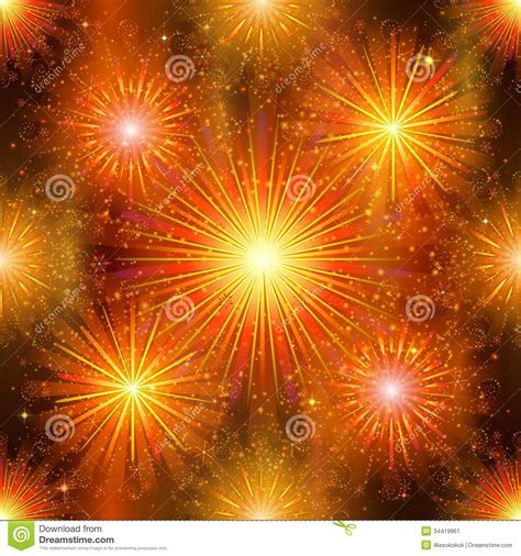 fireworks seamless stock image image 34419961