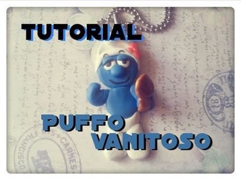 vanitoso puffo diy tutorial puffo vanitoso fimo how to make a smurf