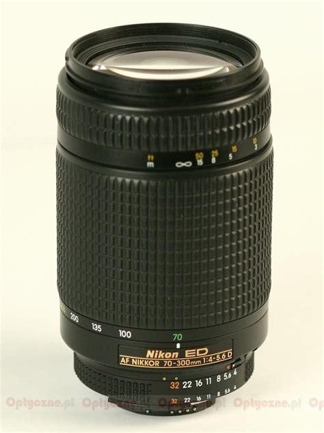 Lensa Nikon Af 70 300 G nikon nikkor af 70 300 mm f 4 5 6d ed review pictures and parameters lenstip
