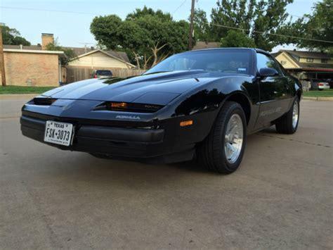 1989 Pontiac Firebird by 1989 Pontiac Firebird Formula 350 Black On Black Low