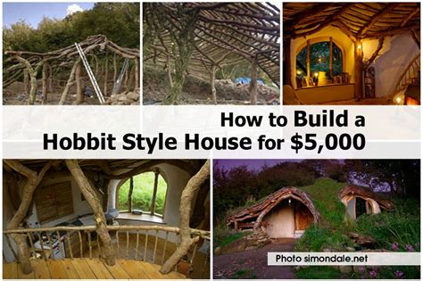 building an a frame house how to build a hobbit style house for 5 000