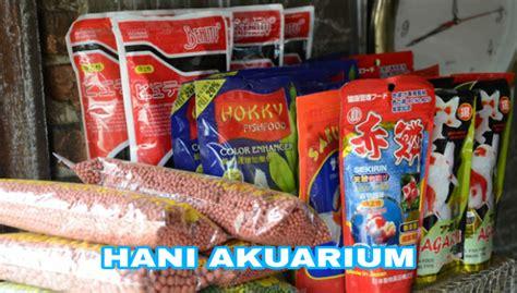 Pakan Ikan Hias Aquarium hani aquarium toko ikan hias dan perlengkapan akuarium di