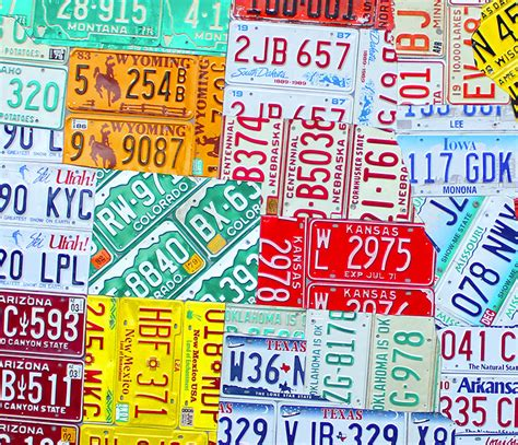 usa license plate map purchase usa license plate maps by design turnpike