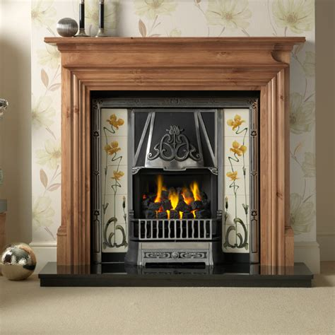 Pine Fireplaces by Gallery Danesbury Pine Fireplace With Toulouse He Cast
