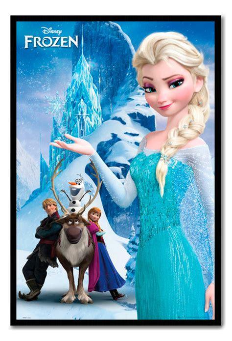 printable elsa poster framed frozen poster elsa snow queen ebay