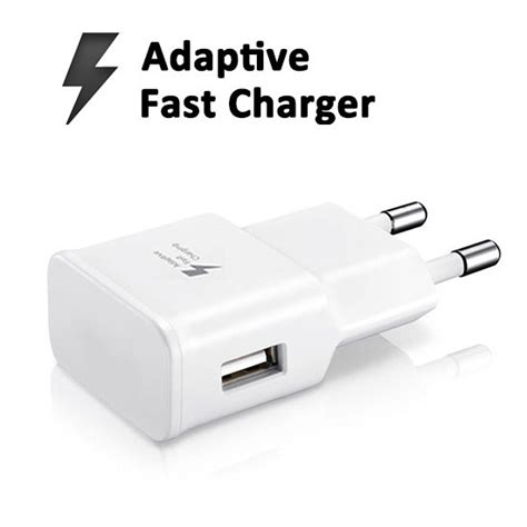 Charger Mobil Fast Charging Samsung Original Note 4 Charger S6 samsung original adaptive fast travel adapter 2 pin charger cable