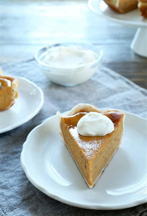 classic gluten free pumpkin pie or sweet potato pie