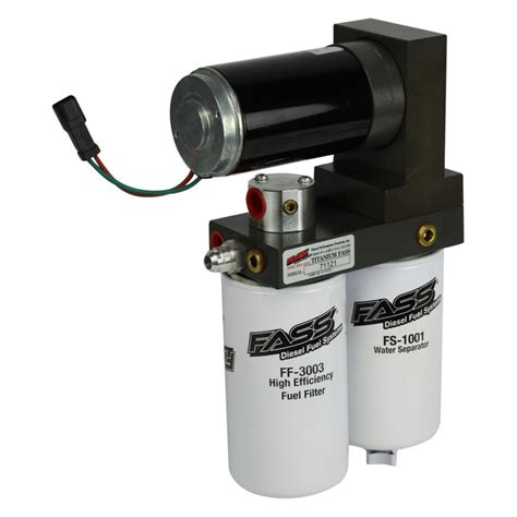 air fuel system fass fuel systems 174 t f16 220g titanium series fuel air separation system 220 gph