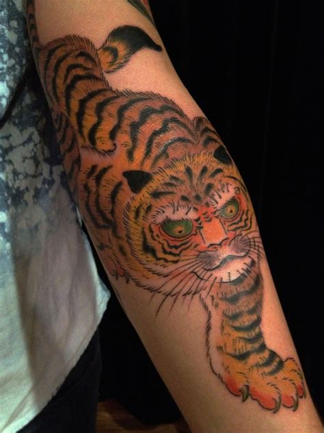 tiger forearm tattoo designs tiger tattoos page 3