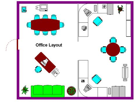 layout design of front office office layout
