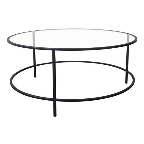 steel glass coffee table dering