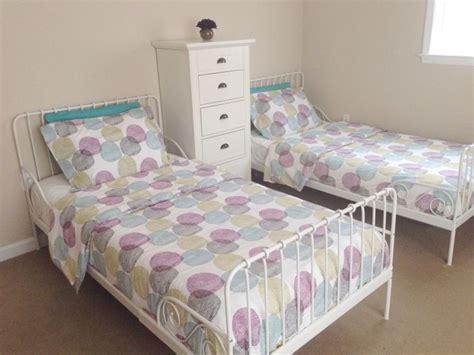 minnen bed girls shared bedroom ikea malin rund bedding ikea