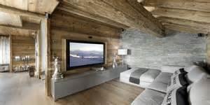 Chalet Designs Elegant Hi Tech Ski Chalet In Courchevel Modern House