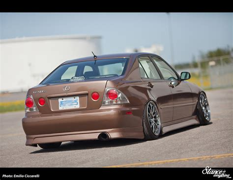 lexus is300 stance banned in matt brunett s is300 stance is everything