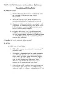 Problem Solution Outline by Persuasive Essays Against Driving Writefiction581