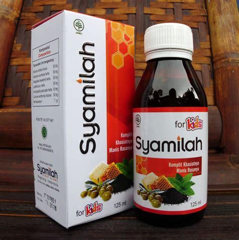 Madu Anak Obat Herbal Ispa Infeksi Saluran Pernafasan Flek Paru Paru madu herbal syamilah for pondok ibu