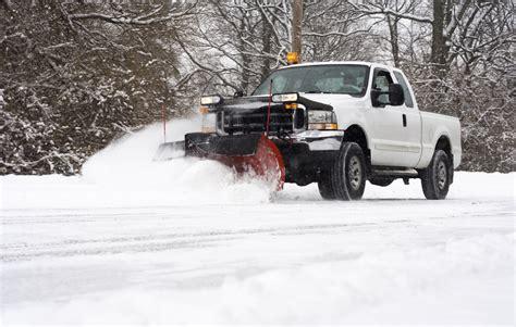 snow plow truck plowing snow newhairstylesformen2014