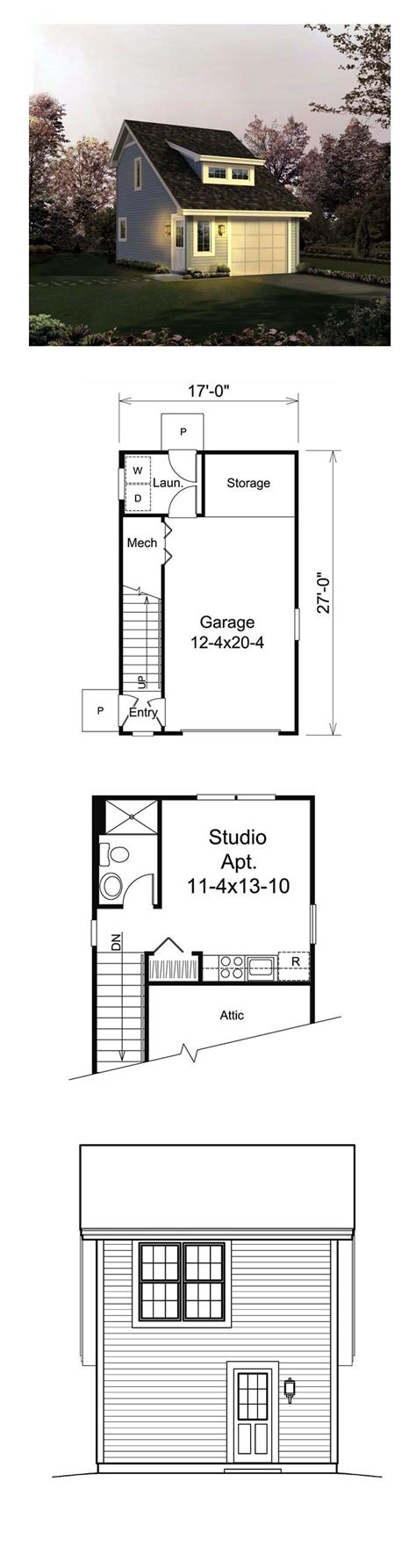Apartment Plans With Garage by 49 Best Images About Garage Apartment Plans On