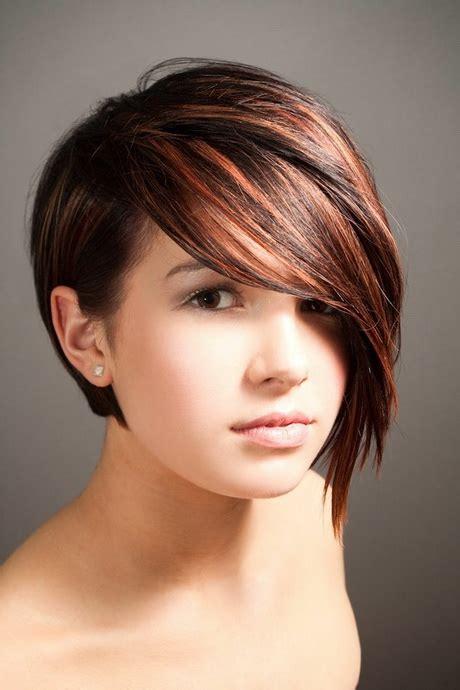 coupe de cheveux courte pour rond