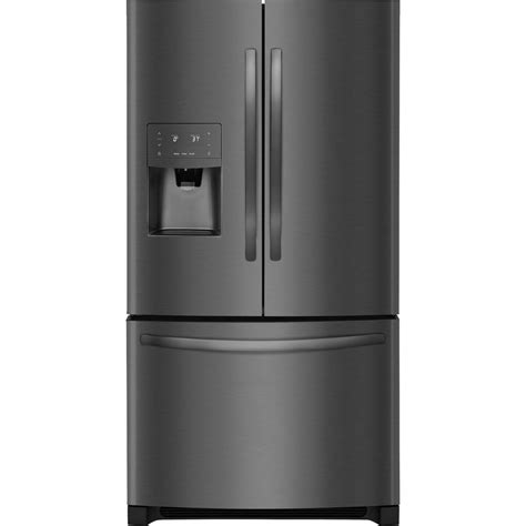 Frigidaire Counter Depth Door Refrigerator by Frigidaire 22 Cu Ft Door Refrigerator In Black Stainless Steel Counter Depth Energy