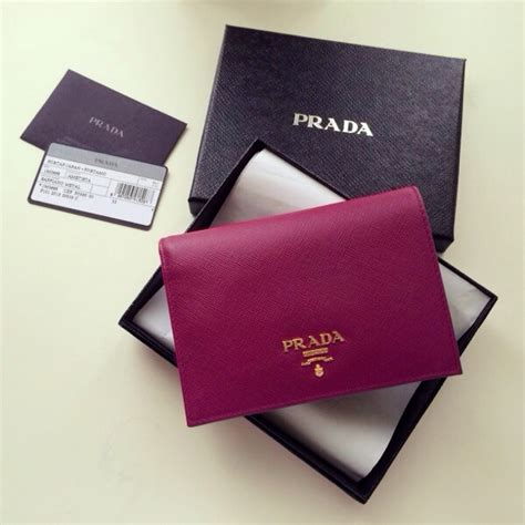 Prada Wallet Preloved the green suitcase prada saffiano ametista bi fold wallet store powered by