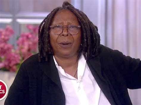Whoopi Goldberg Hairstyle by The View S Whoopi Goldberg Shreds Donald