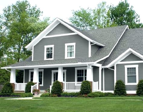 light gray house what color shutters gray house brown roof size of house colors green
