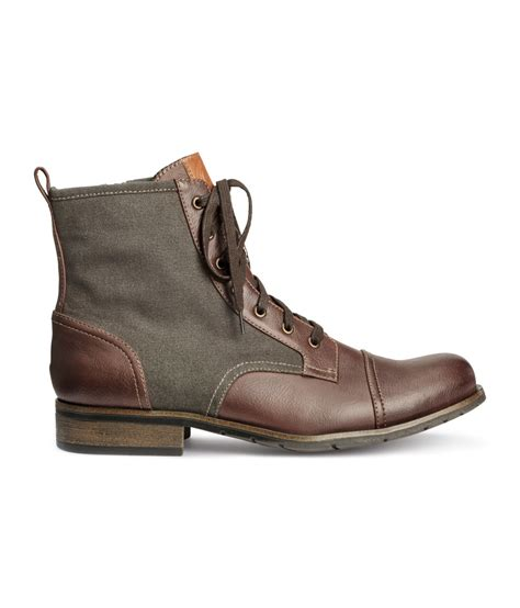 h m boots mens lyst h m boots in for