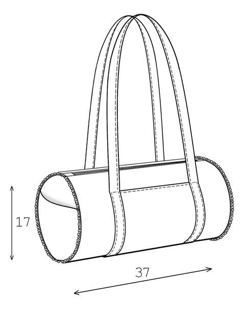 drawing bag pattern bag sewing pattern 3012 made to measure sewing pattern